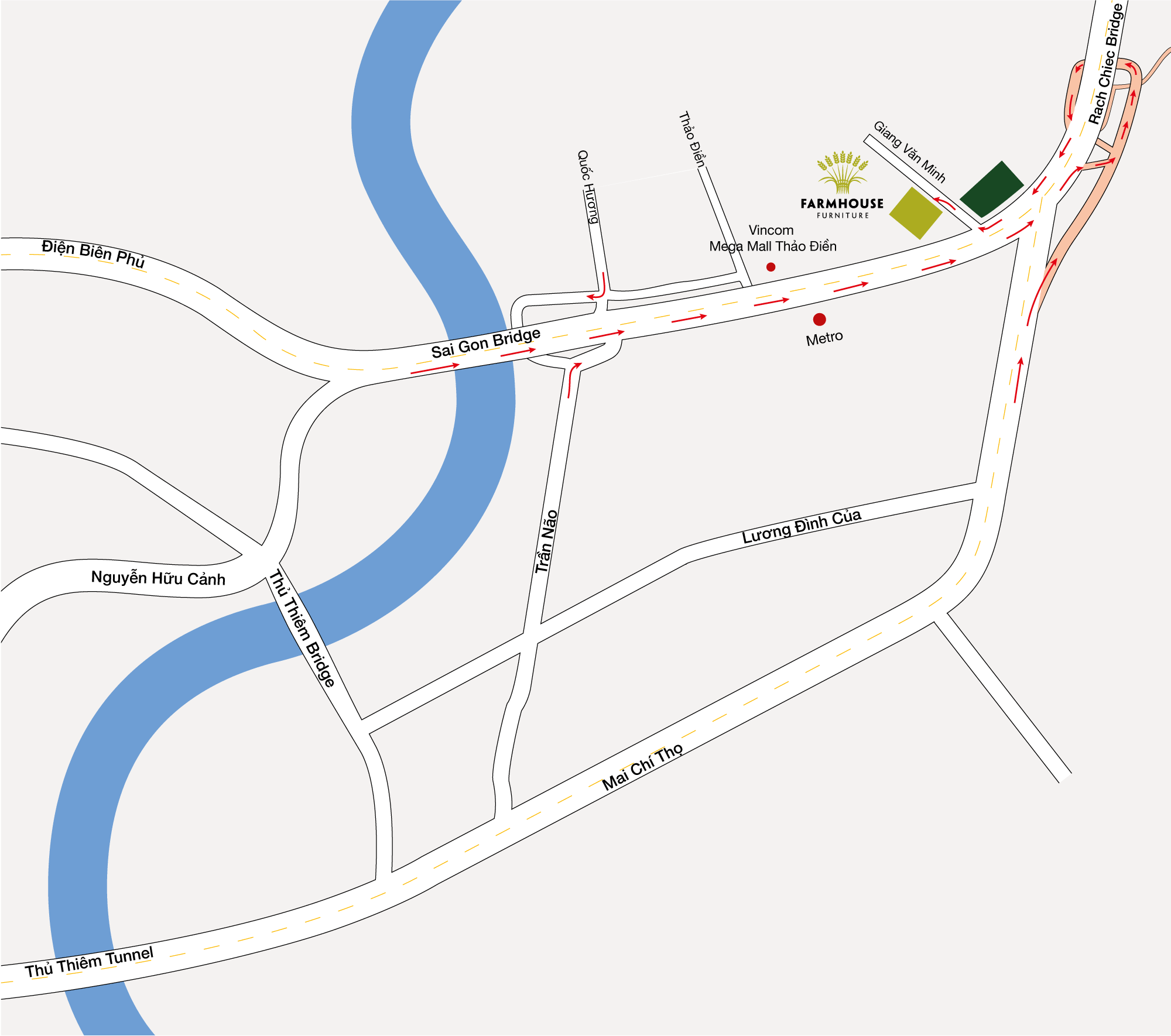 FARMHOUSE FURNITURE MAP